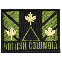 V-TAC Region Patches --British Columbia