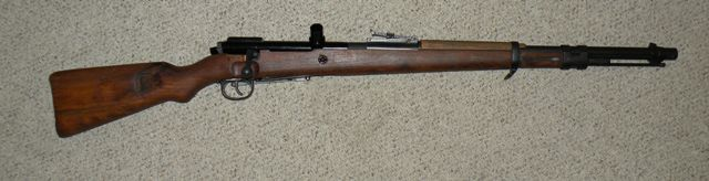 German 98K Rifle