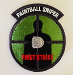 FIRST STRIKE PAINTBALL SNIPER PATCH