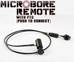MICROBORE remote with PTC