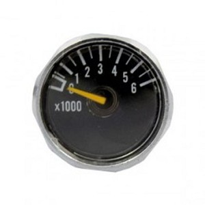 6000 psi mini gauge for UL and PRO